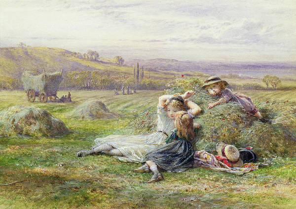 Victorian Era Painting - Resting by William Stephen Coleman