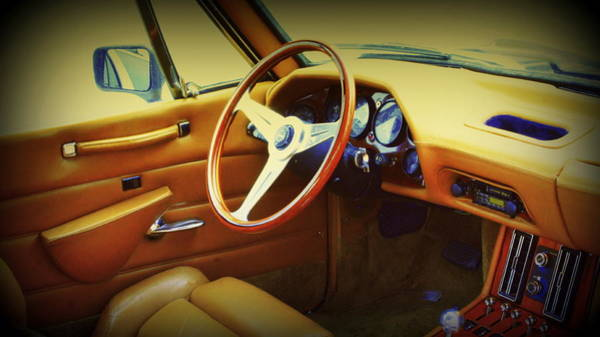 Clear Coat Wall Art - Photograph - Restoration Of A Classic Car 1984 Avanti  Interior by Rosemarie E Seppala
