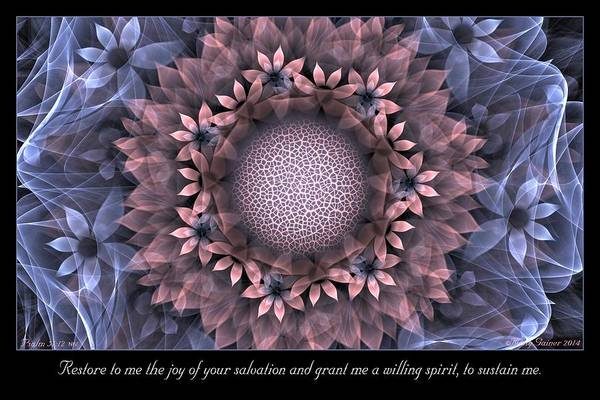 Digital Art - Restore To Me by Missy Gainer