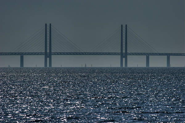 Skane Photograph - Öresund Link by Photo ©tan Yilmaz