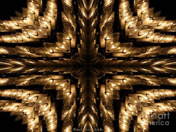 Photograph - Resurrection Candle Abstract by Rose Santuci-Sofranko