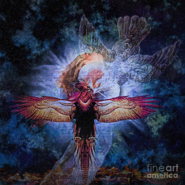 Rebirth Wall Art - Digital Art - Resurrection by Lianne Schneider