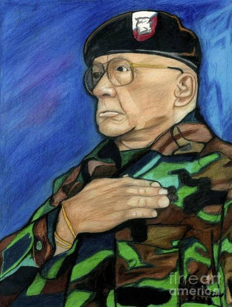 Ret Command Sgt Major Kittleson Art Print