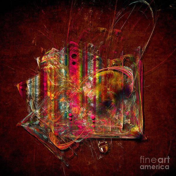 Digital Art - Reticule Handbag by Alexa Szlavics