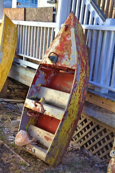 Photograph - Retired Amusement Ride Boat by Gordon Elwell