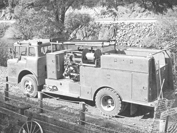 Photograph - Retired Fire Pumper by Frank Wilson