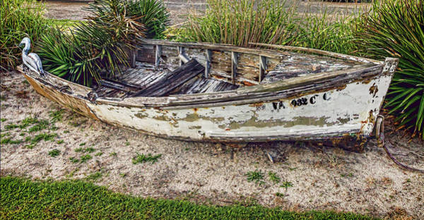 Photograph - Retired Fishing And Crab Boat by Jerry Gammon
