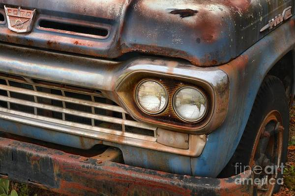 Photograph - Retired Ford F-600 by Adam Jewell