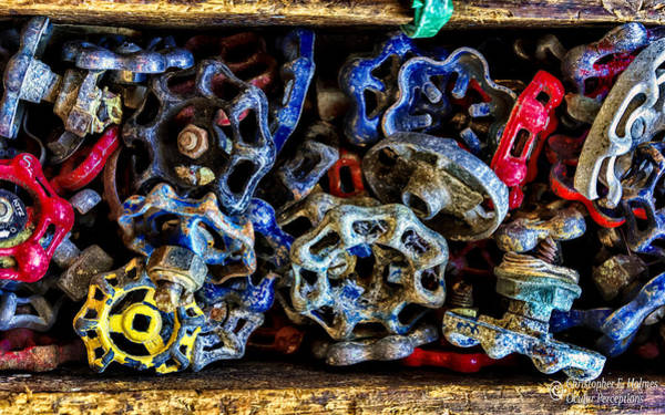 Photograph - Retired Knobs by Christopher Holmes