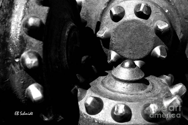 Photograph - Retired Machines 07 - Drill Bit by E B Schmidt