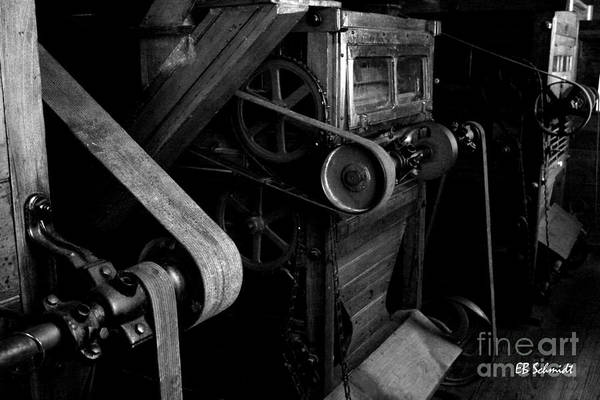 Photograph - Retired Machines 08 - Sifter by E B Schmidt