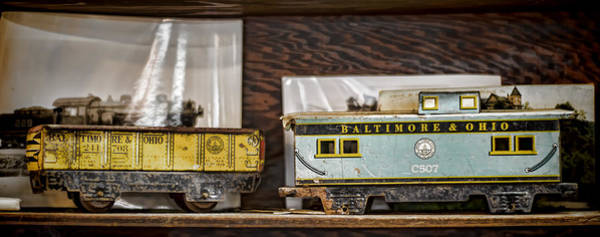 Lionel Photograph - Retired Trains by Heather Applegate