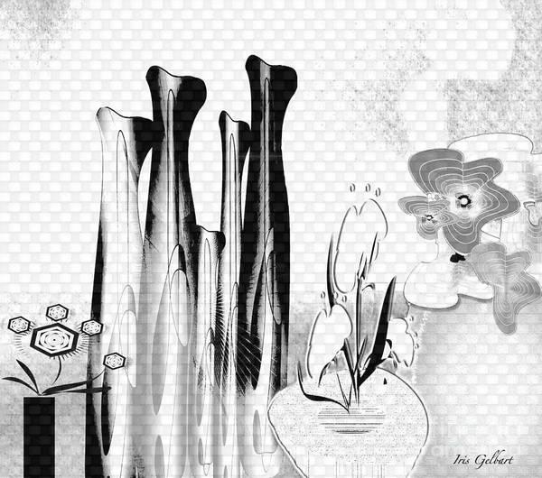 Jug Digital Art - Retreat by Iris Gelbart