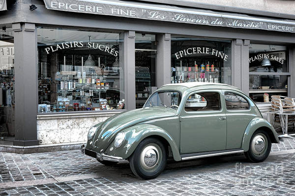 Photograph - Retro Beetle by Olivier Le Queinec