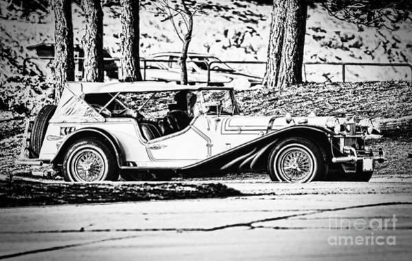 Photograph - Retro Cabriolet by Les Palenik