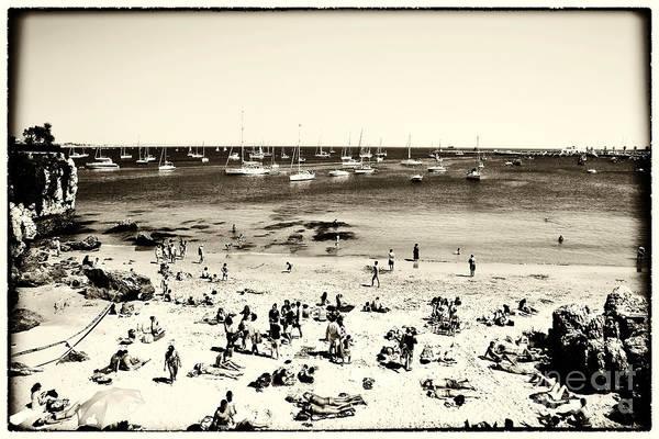 Wall Art - Photograph - Retro Cascais Beach by John Rizzuto
