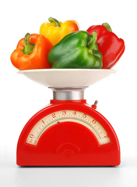 Recipe Photograph - Retro Kitchen Scale by Jim Hughes