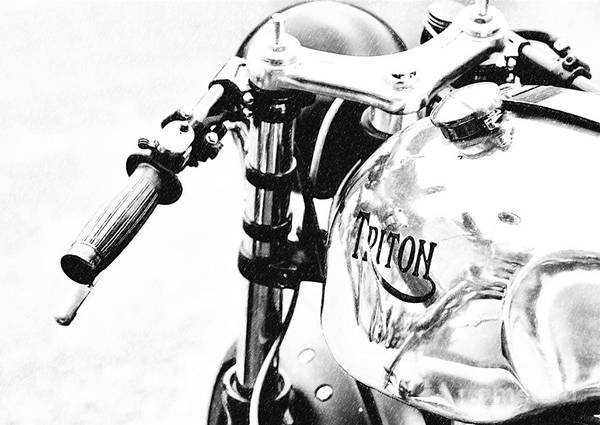 Photograph - Retro Triton by Tim Gainey