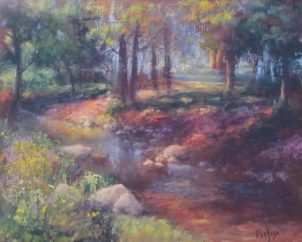 Pastel - Return To Shupp's Grove by Bill Puglisi