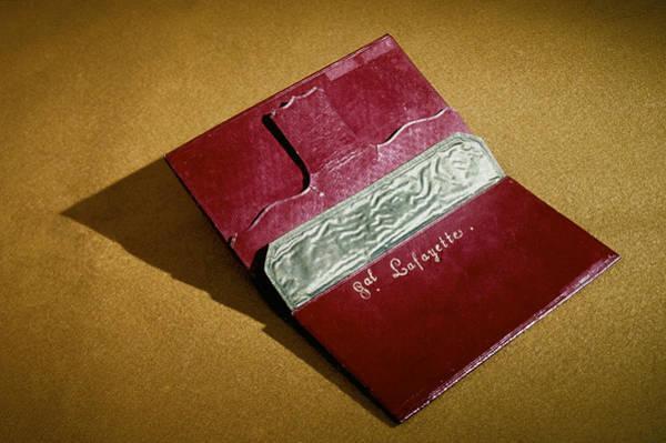 Photograph - Rev War: Wallet by Granger