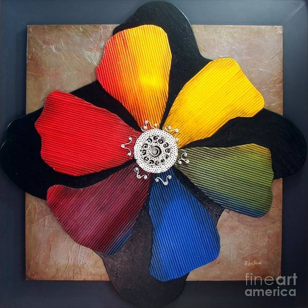 Primary Colors Mixed Media - Revelation Of Colors by Eloa Jane