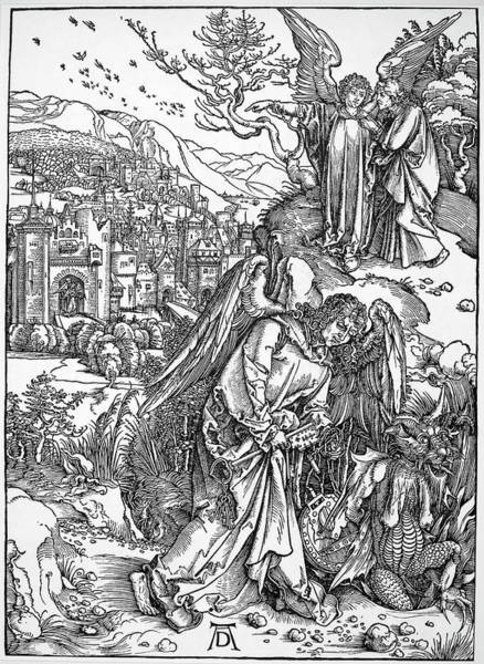 Wall Art - Painting - Revelation Of Saint John by Granger
