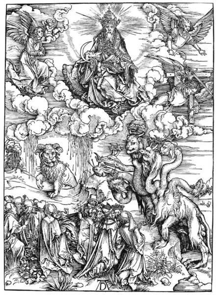 Painting - Revelation Of St by Granger