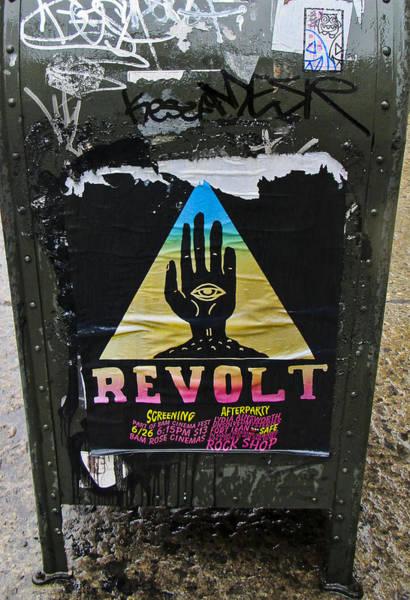 Wall Art - Photograph - Revolt by Gerald Andersen