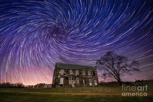 Star Trails Photograph - Revolution by Michael Ver Sprill