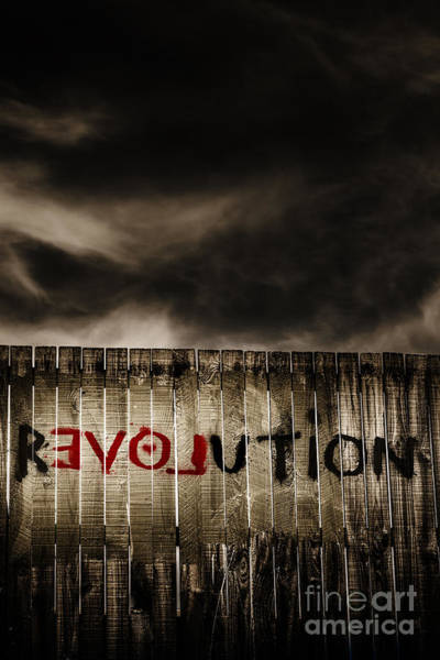 Capitalism Wall Art - Photograph - Revolution. The Writings On The Wall by Jorgo Photography - Wall Art Gallery
