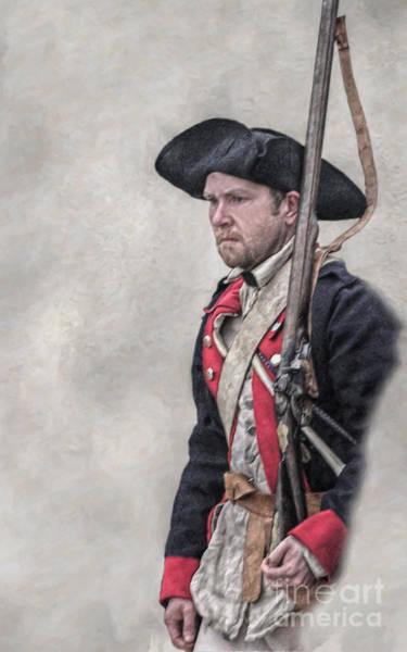 Musket Digital Art - Revolutionary War American Soldier Two by Randy Steele