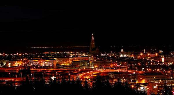 Photograph - Reykjavik Nightlife by Kristia Adams