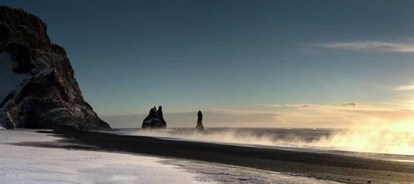 Troll Photograph - Reynisdrangar Sea Stacks by Jeremy Walker/science Photo Library