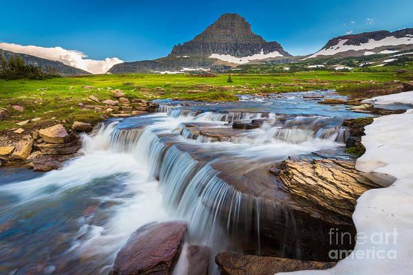 Photograph - Reynolds Creek Falls by Inge Johnsson