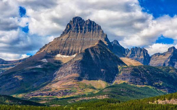 Photograph - Reynolds Mountain by John M Bailey