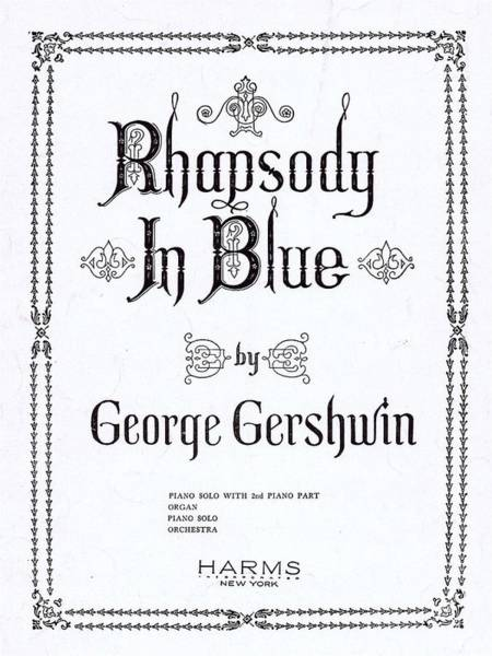 Tin Pan Alley Photograph - Rhapsody In Blue by Mel Thompson