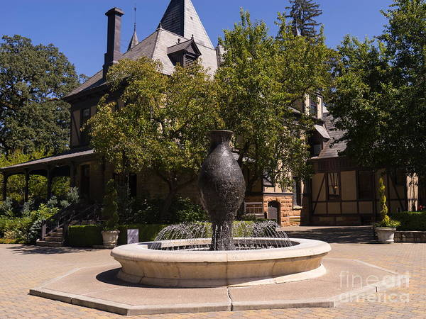 Photograph - Rhine House At Beringer Winery St Helena Napa California Dsc1728 by Wingsdomain Art and Photography