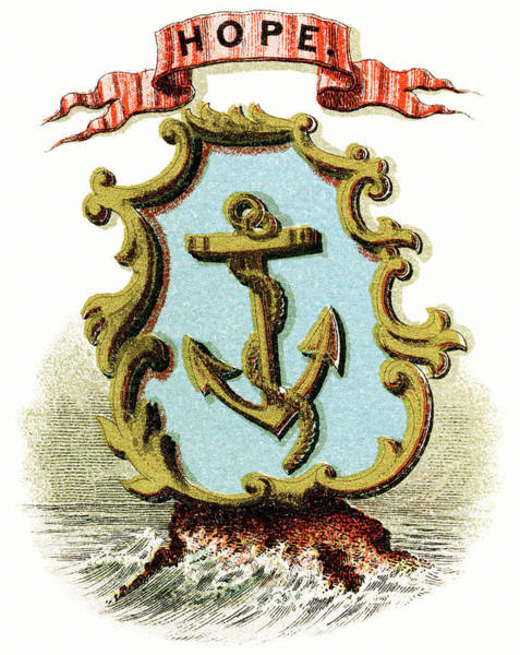 Wall Art - Painting - Rhode Island Coat Of Arms by Granger