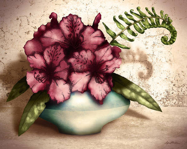 Rhododendron I Art Print