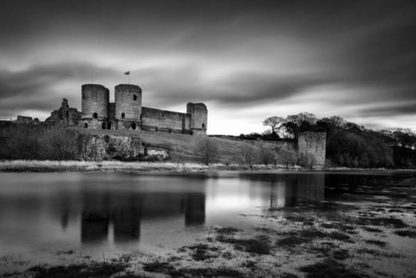 Fortification Photograph - Rhuddlan Castle by Dave Bowman