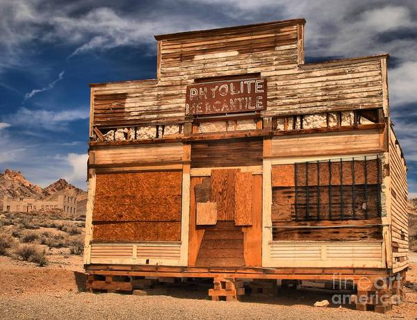 Photograph - Rhyolite Mercantile by Adam Jewell