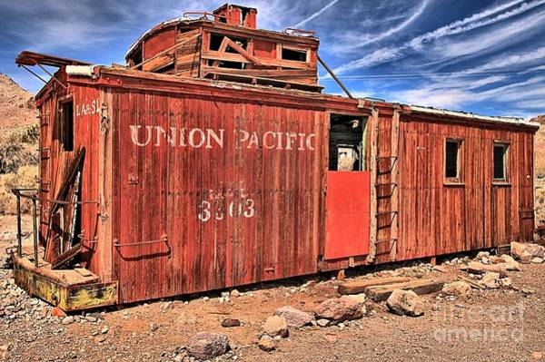 Photograph - Rhyolite Union Pacific by Adam Jewell