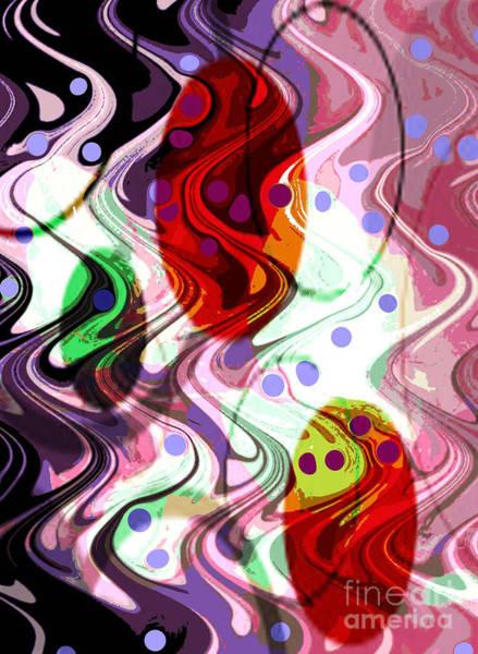 Digital Art - Rhythem Of Change II by Yael VanGruber