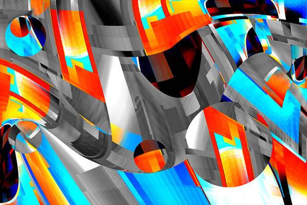 Digital Art - Rhythm And Balls - Roy by rd Erickson