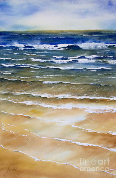 Painting - Rhythmic Calm by Glenyse Henschel