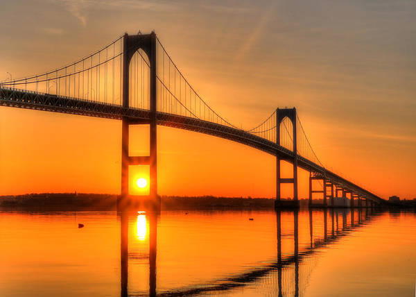 Newport Ri Wall Art - Photograph - Ri Sunrise by Jeff Bord