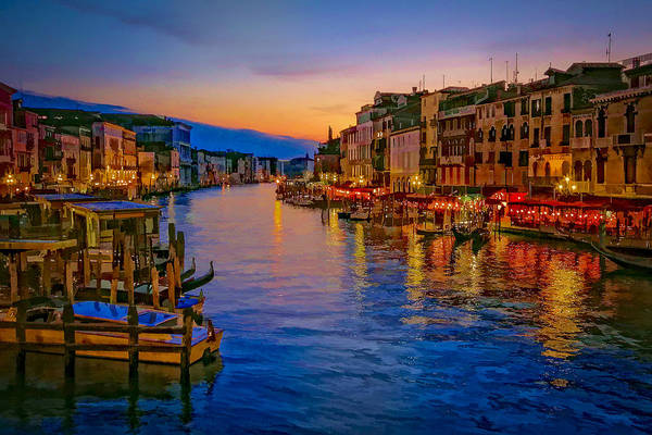 Photograph - Rialto Evening by Andy Bitterer