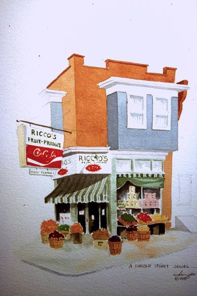 Painting - Ricco's by William Renzulli