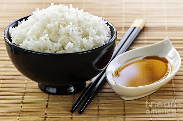Wall Art - Photograph - Rice Meal by Elena Elisseeva