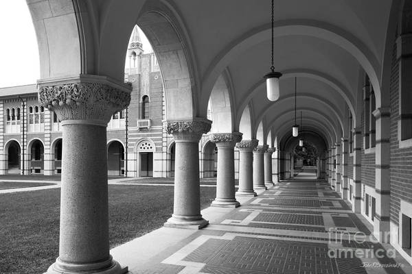 Photograph - Rice University Arches Of Lovett Hall by University Icons